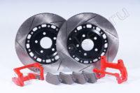 Кит увеличенных задних дисков (под сток суппорт) AUDI