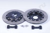 Кит увеличенных задних дисков (под сток суппорт) MINI