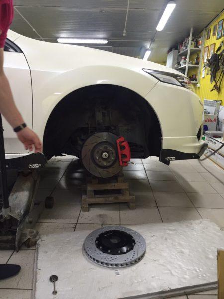 Honda Accord тормоза HP-brakes_ hpb (2)