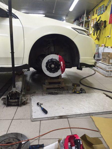 Honda Accord тормоза HP-brakes_ hpb (3)