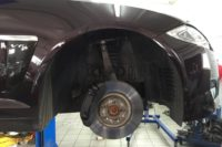 Jaguar XF тормоза (6)