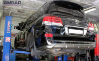 Lexus LX570 тормоза штатные (1)