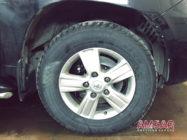 Toyota Land Cruiser 200. Замена тормозной системы на hp-brakes