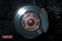 Тормоза на Lexus LX 450d