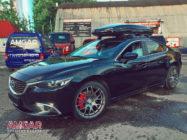 Mazda6. Тормоза HPB. Front 356x32mm Sport 6pot.
