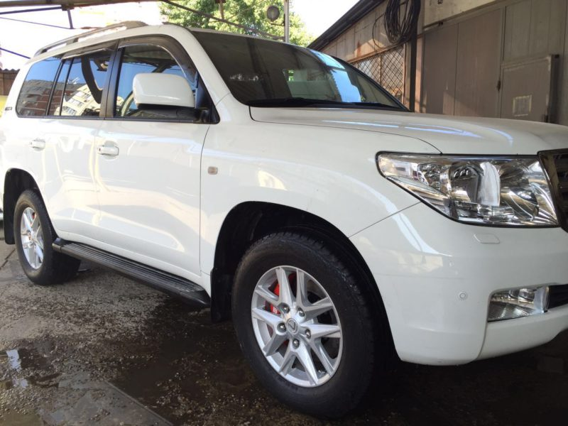 Toyota Land Cruiser 200. Тормоза HPB. Front 365×34 mm U6pot +rear 365x30mm U4pot.