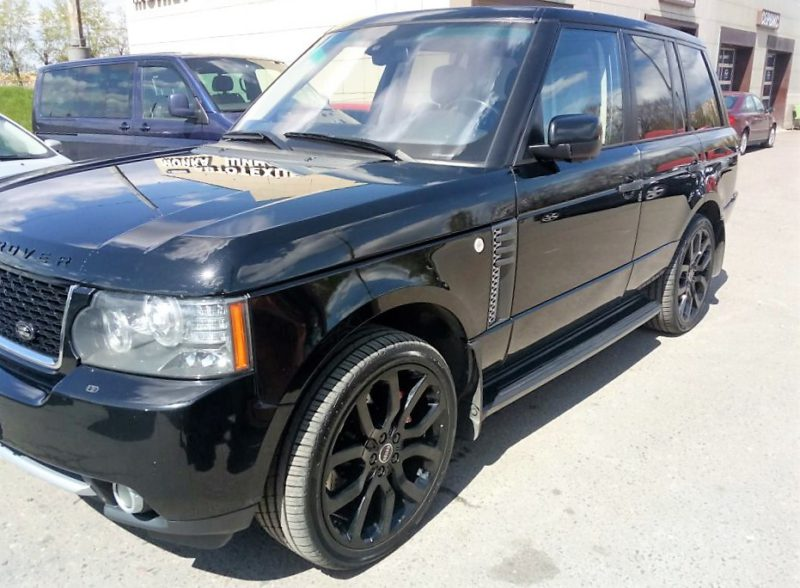 Land Rover Range Rover. Тормоза HPB