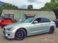 BMW 3 Series 320d xDrive. Тормоза HP-Brakes front 345x32mm Ultimate 6pot.