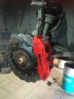 Audi A6 C7. Тормоза HP-Brakes front 380x32mm Ultimate 6pot