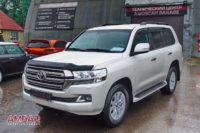 Усиленные тормоза наToyota land cruiser 200. Ставим hp-brakes front 365x34mm Ultimate 6pot +rear 365x30mm Ultimate 4pot.