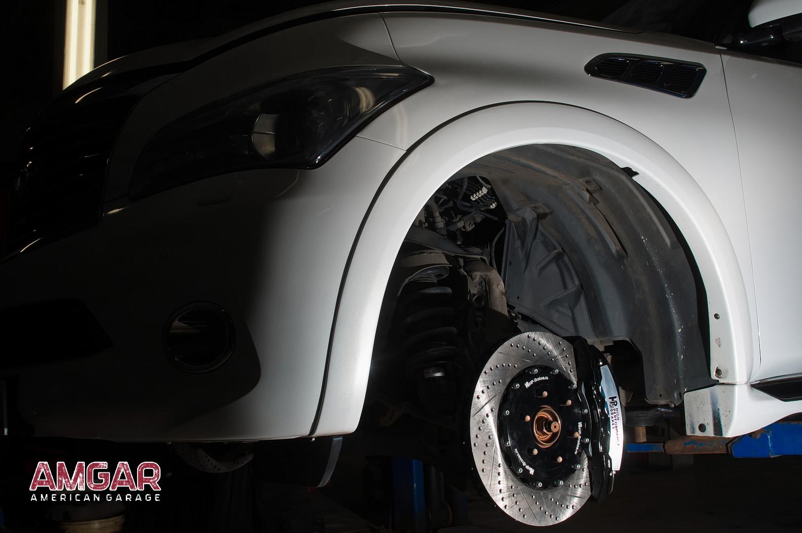 Тормоза Infiniti QX56. HP-Brakes