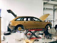 Тормоза для Audi A6 Avant (C7). HPB