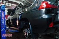 Тюнинг тормозной системы Lexus LX570. ставим hp-brakes