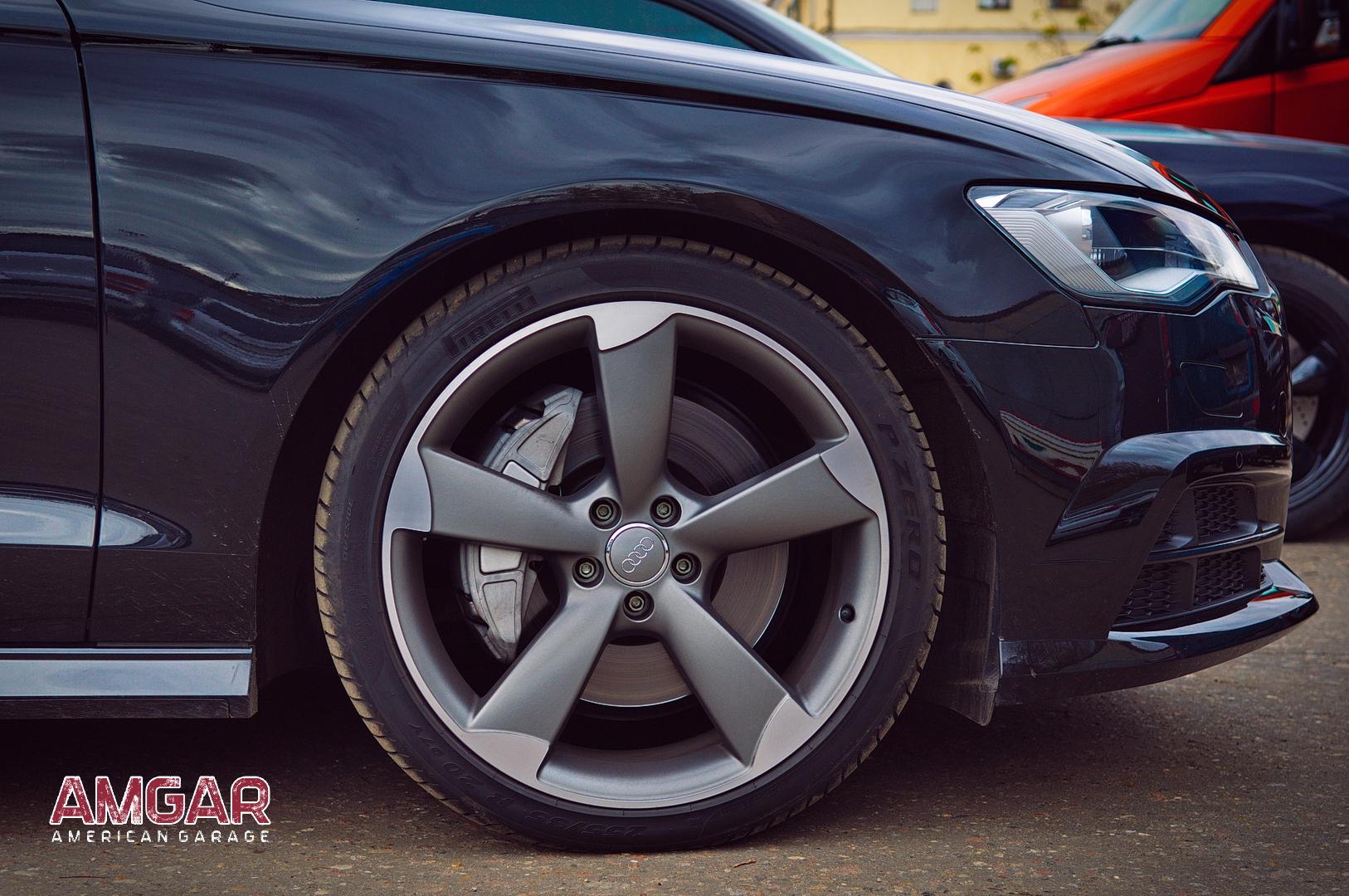 Audi A6 тормоза