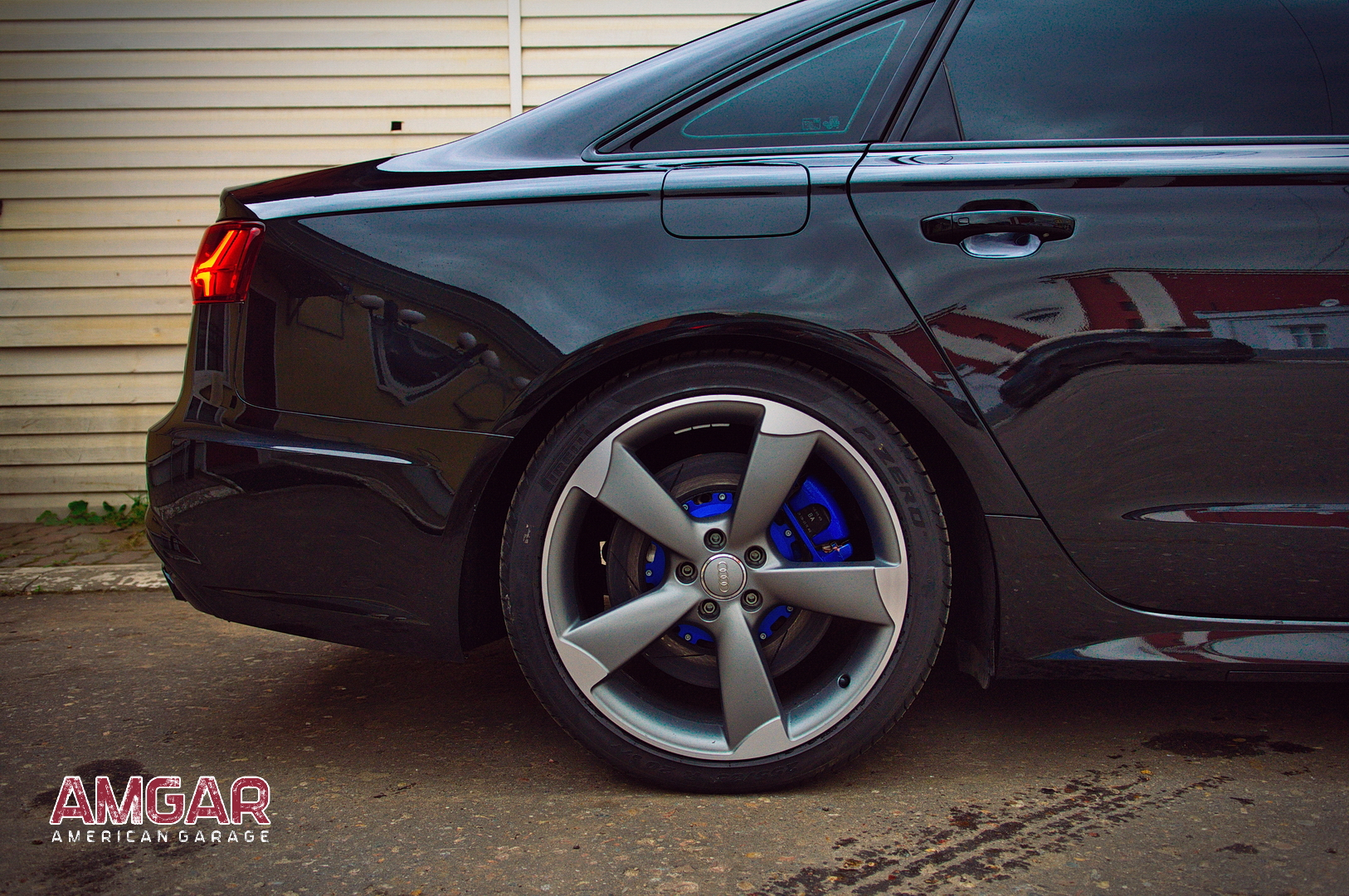 Audi A6 тормоза hp-brakes