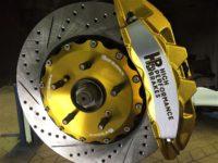 Honda Accord 9 тормозная система HPB