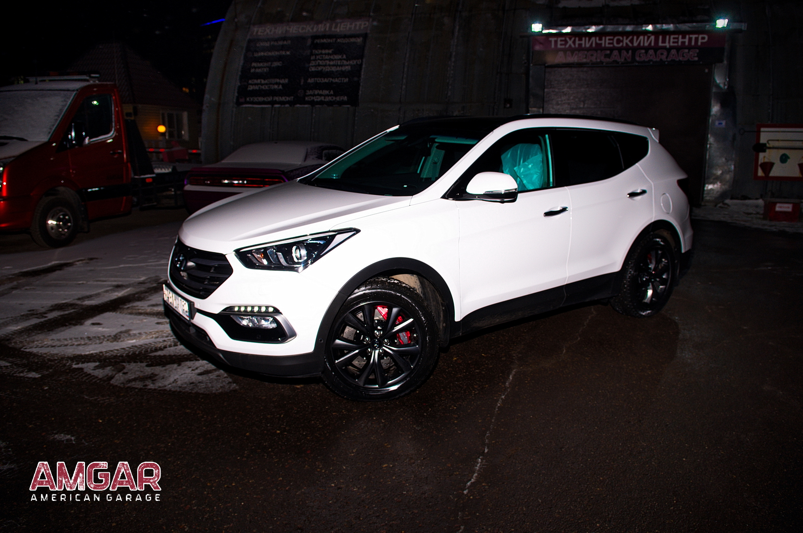 Hyundai Santa Fe. Тормоза HP-Brakes