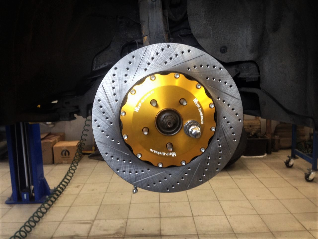 Тормоза HP-Brakes для Jeep Grand Cherokee SRT8 WK2