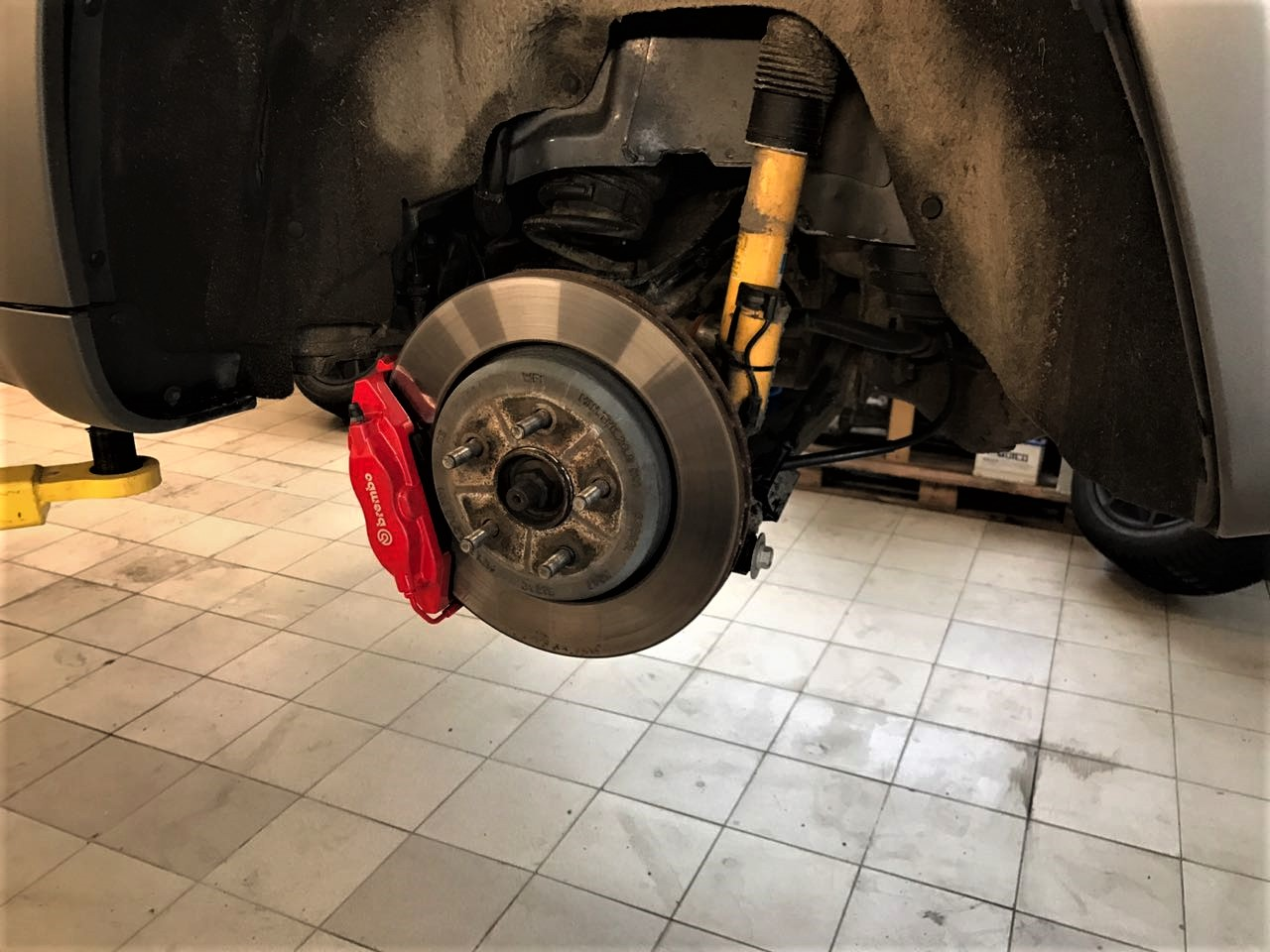 тормоза brembo Jeep Grand Cherokee SRT8 WK2