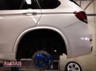 Тюнинг BMW X5 40d (F15). Ставим тормоза HPB