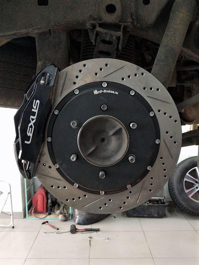 Lexus GX 460. Тормоза HP-Brakes