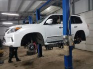 Lexus LX570 тормоза HPB f365x34mm U6pot+ r365x30mm U4pot