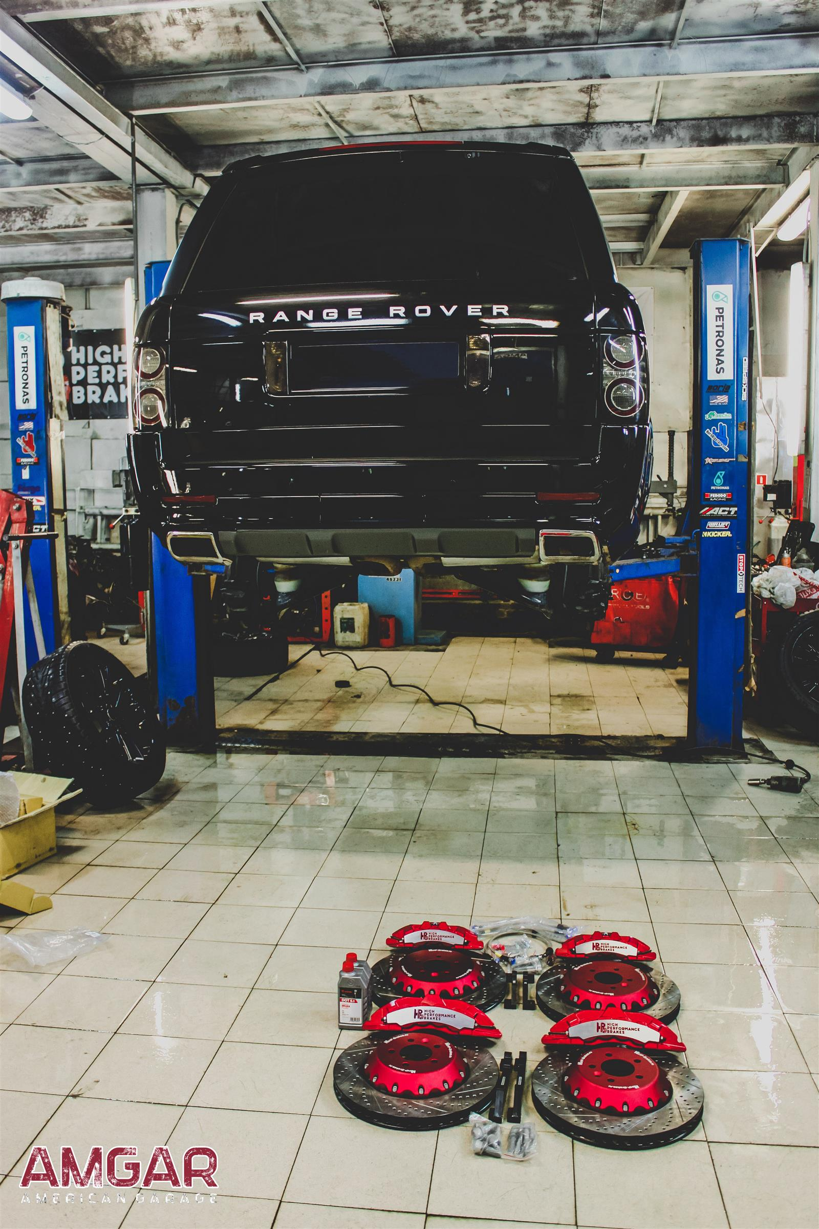 Тюнинг Range Rover Vogue. Тормоза HPB