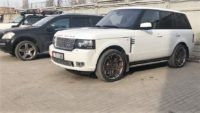 Тюнинг тормозов на Land Rover Range Rover
