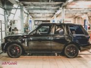 Range Rover Vogue. Тормоза HPB front 405x36mm Ultimate 8pot + rear 380x32mm Ultimate 6pot