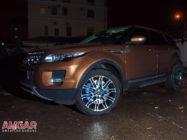 Меняем тормоза на Land Rover Range Rover Evoque. Ставим HPB