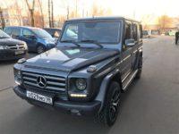 Тюнинг тормозов Mercedes-Benz G500. Ставим HP-Brakes.