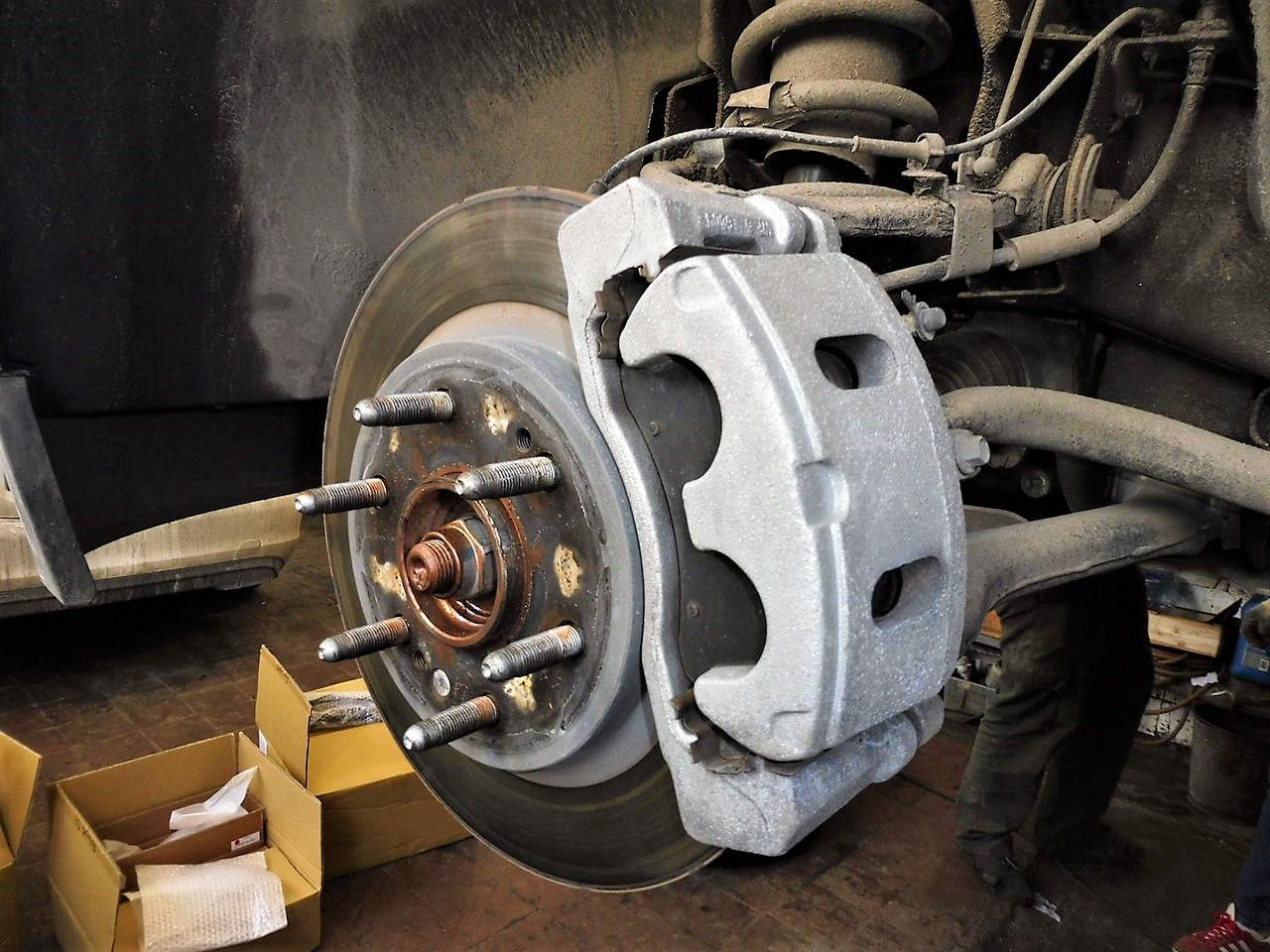 Тюнинг тормозной системы Chevrolet Tahoe