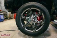 Тюнинг тормозной системы Toyota Land Cruiser 105. Ставим HPB