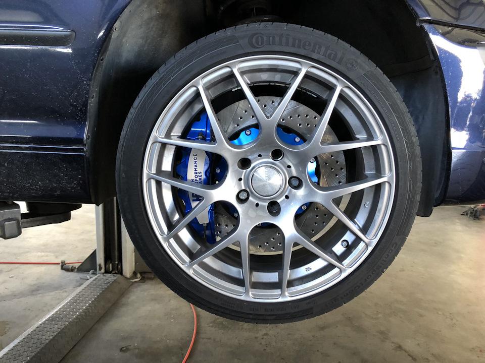 BMW 3 series 318i. Добавляем безопасности ТОРМОЗА HPB