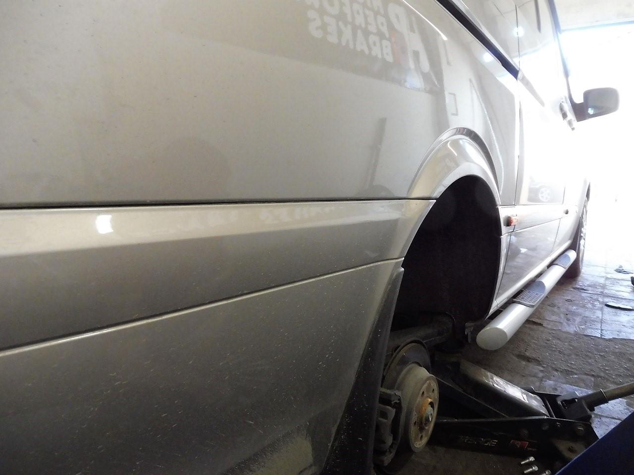 Mercedes-Benz Viano Тюнинг тормозной системы
