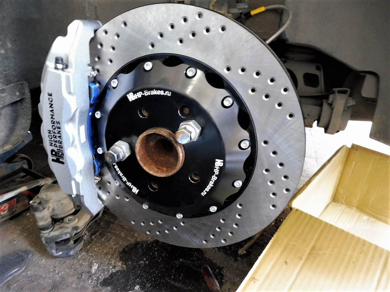 Mercedes-Benz Viano Тюнинг тормозной системы HP-Brakes
