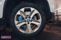Тормозной кит HP-Brakes на BMW X6. Front 405x36mm Ultimate 8pot.