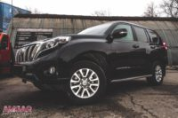 Тюнинг тормозной системы Toyota Land Cruiser Prado. Установка HP-Brakes.