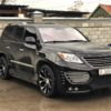 Усиленные тормоза на Lexus LX570 INVADER. HPB front 405x36mm Ultimate 8pot + rear 380x34mm Ultimate 6pot.