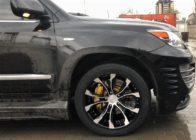 Усиленные тормоза на Lexus LX570 INVADER. HPB