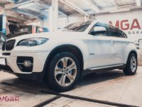 Тормозной кит HP-Brakes на BMW X6. Front 405x36mm Ultimate 8pot.