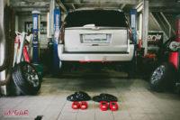 тормоза HPB на Cadillac Escalade