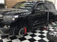 Как улучшить тормоза на Toyota Land Cruiser 200