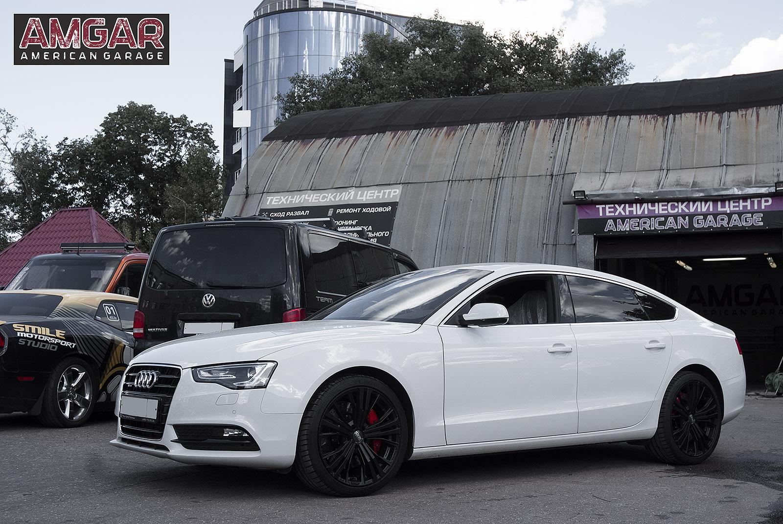 Тормоза HPB на заднюю ось Audi A5