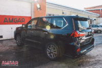 Lexus LX 450D NEW. Замена тормозной системы. Установка HP-Brakes