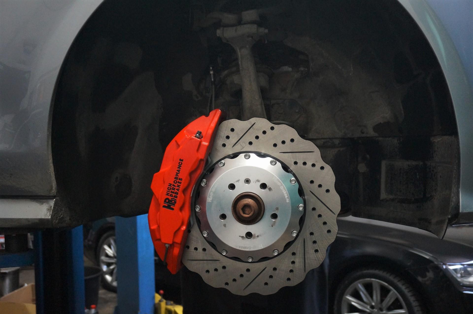 Audi A7 Sportback. Тормозная система HPB