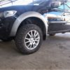 Mitsubishi L200 4th gen. Установка тормозов HPB front 356x32mm Ultimate 6pot.