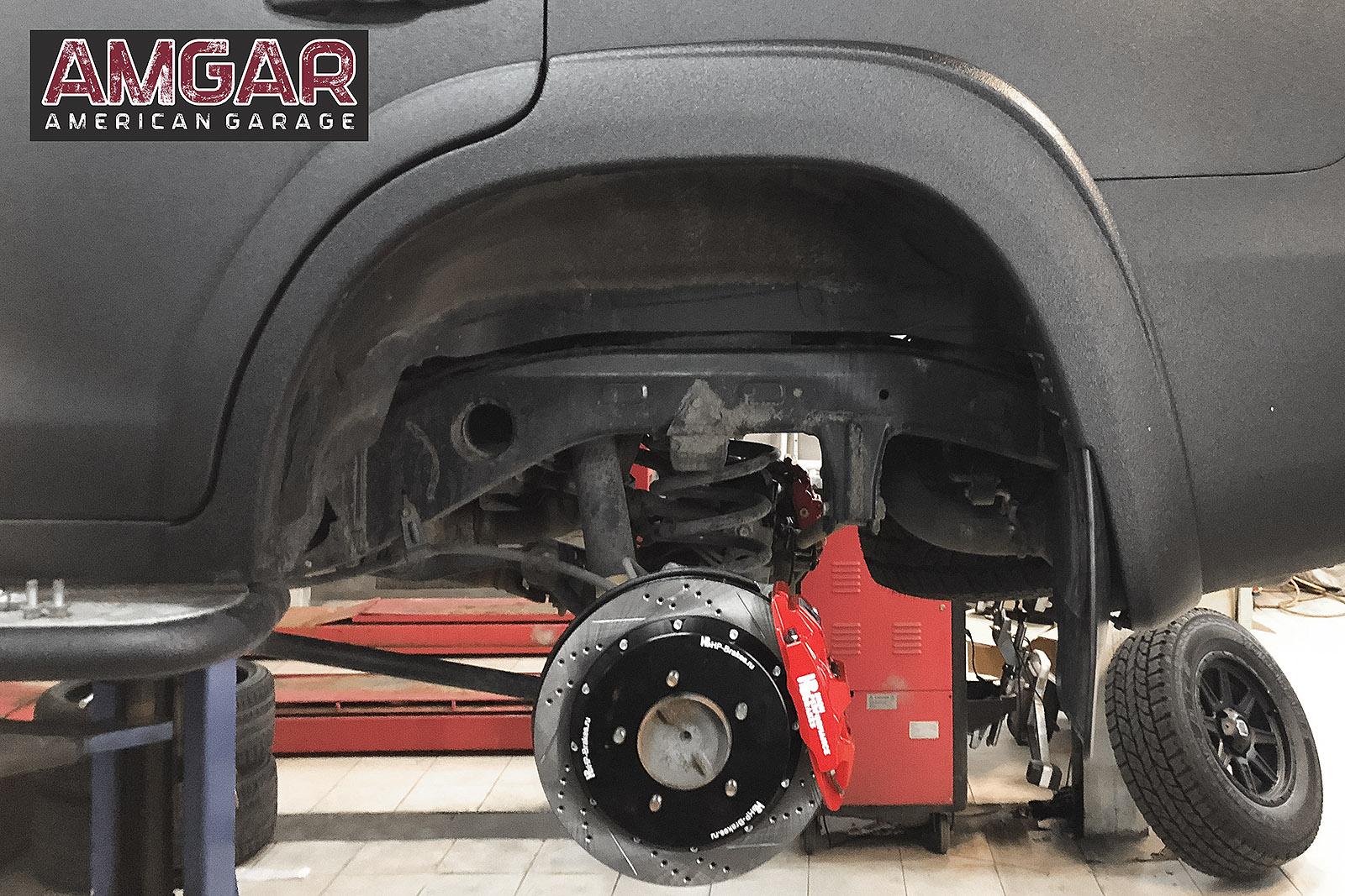 Тормоза на Тойота Ленд Крузер 200. HP-Brakes