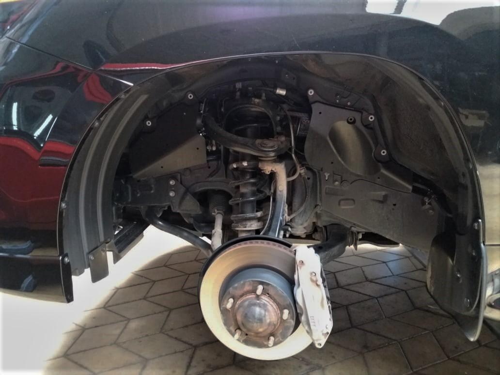 Тормоза на Lexus LX570