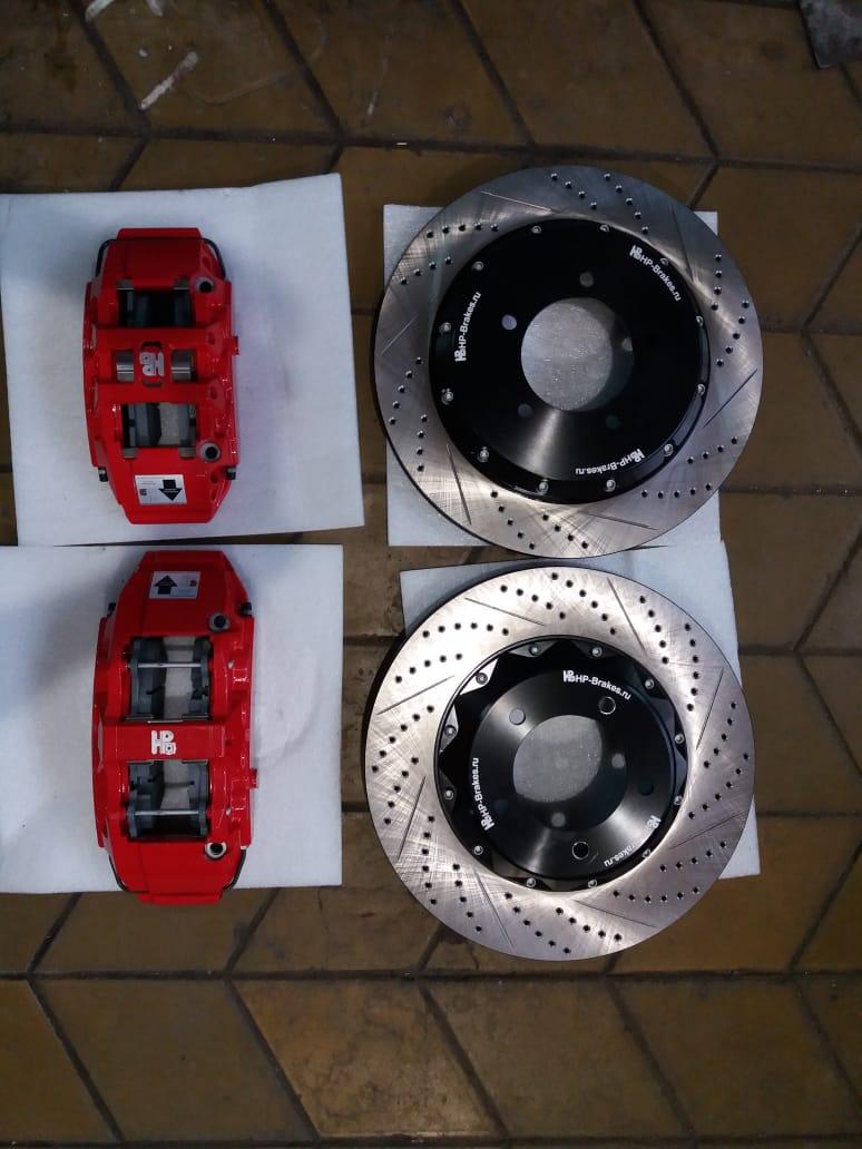 тормозная система на Lexus LX570 (Лексус ЛХ570)